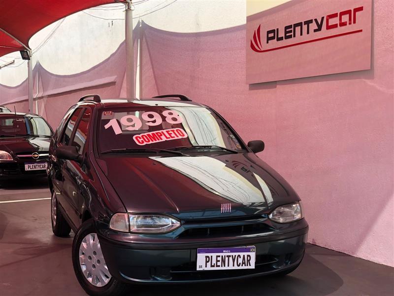 FIAT PALIO 1.6 MPI WEEKEND 16V GASOLINA 4P MANUAL 1998/1998