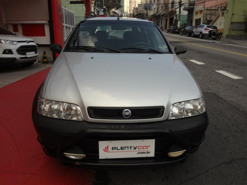 FIAT PALIO 1.8 MPI ADVENTURE WEEKEND 8V GASOLINA 4P MANUAL 2003/2004