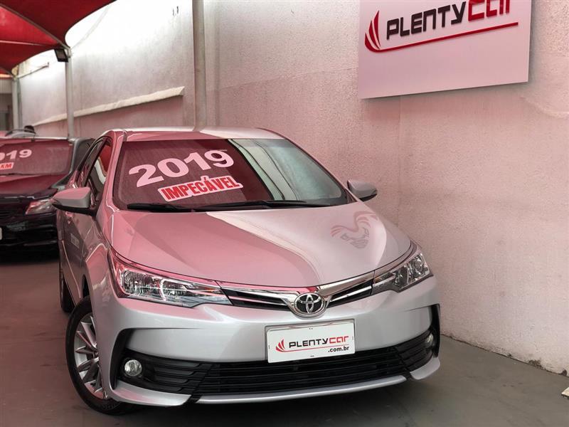 TOYOTA COROLLA 1.8 GLI 16V FLEX 4P AUTOMÁTICO 2018/2019