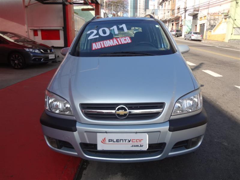 CHEVROLET ZAFIRA 2.0 MPFI ELEGANCE 8V FLEX 4P AUTOMÁTICO 2010/2011