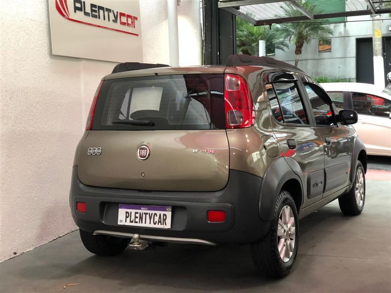 FIAT UNO 1.4 EVO WAY 8V FLEX 4P MANUAL 2011/2012