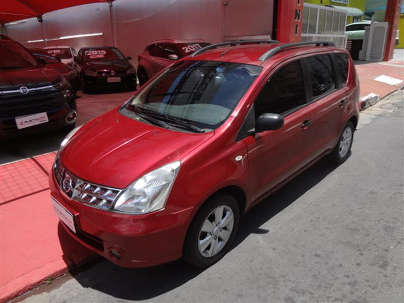 NISSAN LIVINA 1.6 S 16V FLEX 4P MANUAL 2011/2012