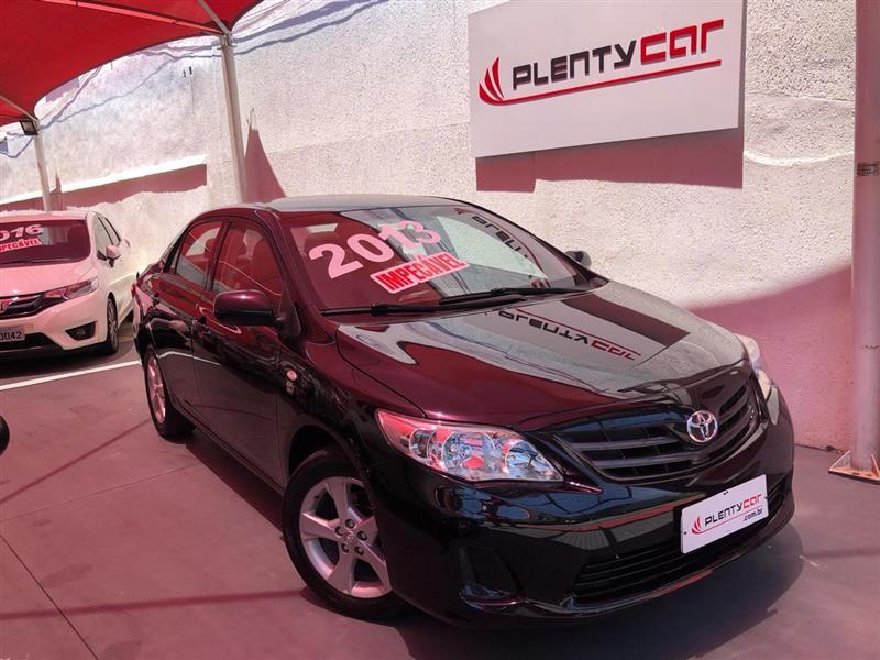 TOYOTA COROLLA 1.8 GLI 16V FLEX 4P AUTOMÁTICO 2012/2013