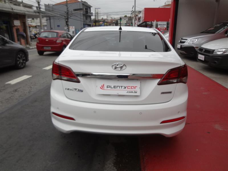 HYUNDAI HB20S 1.6 PREMIUM 16V FLEX 4P AUTOMÁTICO 2017/2017