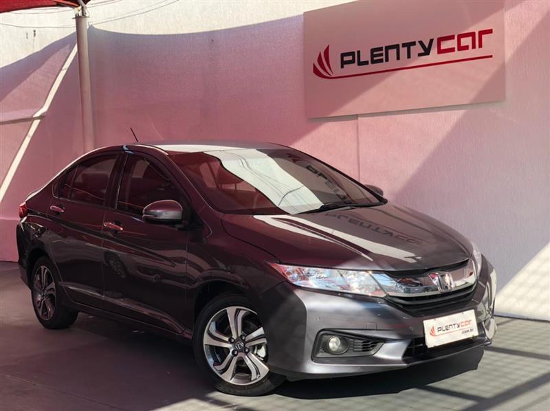HONDA CITY 1.5 EXL 16V FLEX 4P AUTOMÁTICO 2015/2015