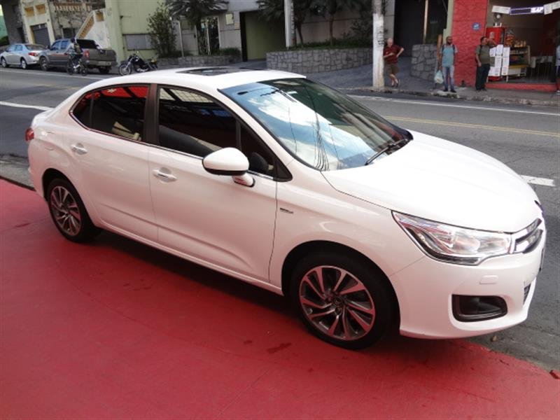 CITROEN C4 LOUNGE 1.6 EXCLUSIVE 16V TURBO FLEX 4P AUTOMÁTICO 2016/2017